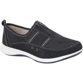 Schuhe Damen Sneaker Low Boulevard  Marineblau