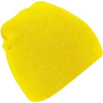 Accessoires Mütze Beechfield B44 Gelb