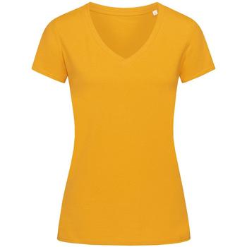 Kleidung Damen T-Shirts Stedman Stars Janet Goldgelb