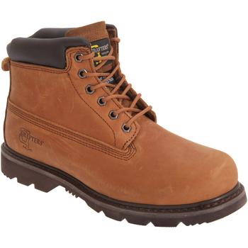 Schuhe Herren Boots Grafters  Hellbraun