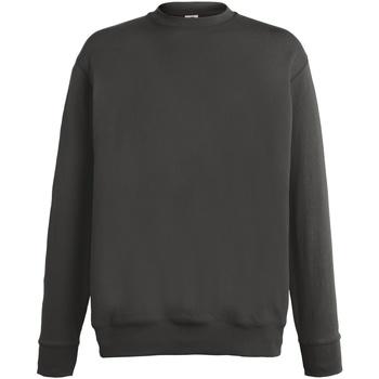 Kleidung Herren Sweatshirts Fruit Of The Loom SS926 Anthrazit hell