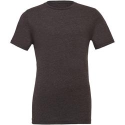 Kleidung Herren T-Shirts Bella + Canvas CA3001 Dunkelgrau meliert