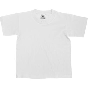 Kleidung Kinder T-Shirts B And C Exact Weiß