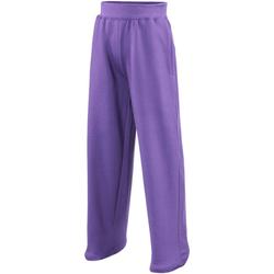 Kleidung Kinder Fließende Hosen/ Haremshosen Awdis  Violett
