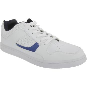 Schuhe Herren Sneaker Low Dek Euston Weiß/Marineblau