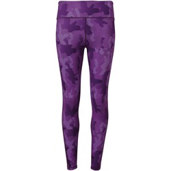 Kleidung Damen Leggings Tridri TR032 Camo Violett