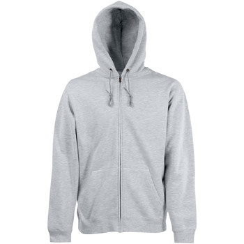 Kleidung Herren Sweatshirts Fruit Of The Loom 62062 Grau meliert