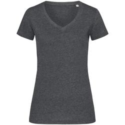 Kleidung Damen T-Shirts Stedman Stars  Anthrazit meliert