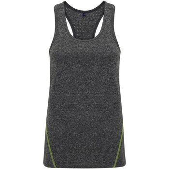 Kleidung Damen Tops Tridri TR041 Schwarz meliert