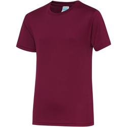 Kleidung Kinder T-Shirts Awdis JC01J Burgunder