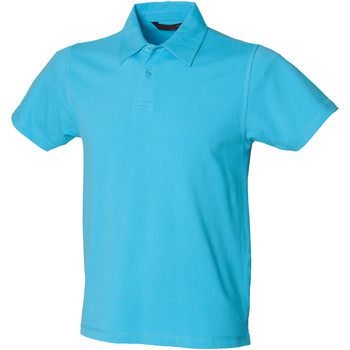 Kleidung Herren Polohemden Skinni Fit SFM42 Surfblau