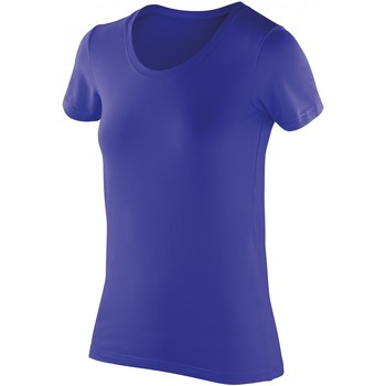 Kleidung Damen T-Shirts Spiro S280F Sapphire