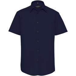 Kleidung Herren Kurzärmelige Hemden Russell 925M Marineblau
