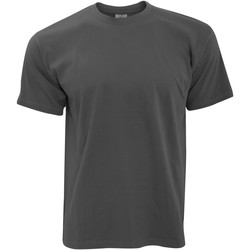 Kleidung Herren T-Shirts B And C TU004 Dunkelgrau
