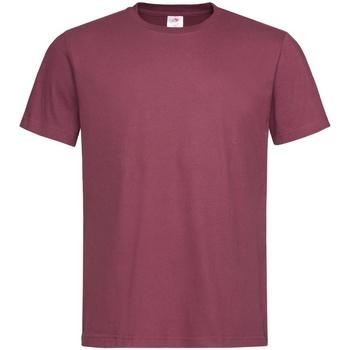 Kleidung Herren T-Shirts Stedman  Burgunderrot