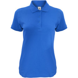 Kleidung Damen Polohemden B And C Safran Königsblau