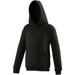 Kleidung Kinder Sweatshirts Awdis JH01J Schwarz