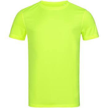 Kleidung Herren T-Shirts Stedman Mesh Cyber Gelb