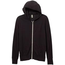 Kleidung Herren Sweatshirts Alternative Apparel AT002 Eco Echt Schwarz