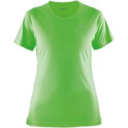 Kleidung Damen T-Shirts Craft CT86F Gecko