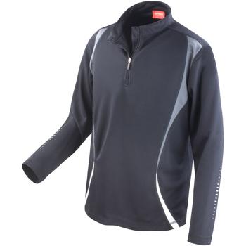 Kleidung Damen Trainingsjacken Spiro S178X Schwarz/Grau/Weiß
