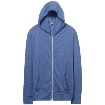 Kleidung Herren Sweatshirts Alternative Apparel AT002 Eco Pazifik Blau