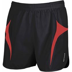 Kleidung Herren Shorts / Bermudas Spiro S183X Schwarz/Rot