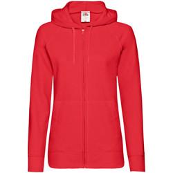 Kleidung Damen Sweatshirts Fruit Of The Loom 62150 Rot