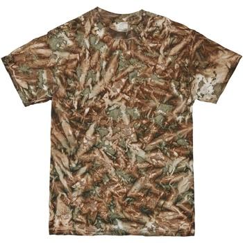 Kleidung Herren T-Shirts Colortone TD08M Tarnmuster