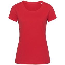 Kleidung Damen T-Shirts Stedman Stars  Paprikarot