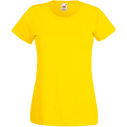 Kleidung Damen T-Shirts Universal Textiles 61372 Hellgelb