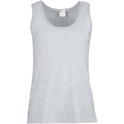 Kleidung Damen Tops Universal Textiles Fitted Grau meliert