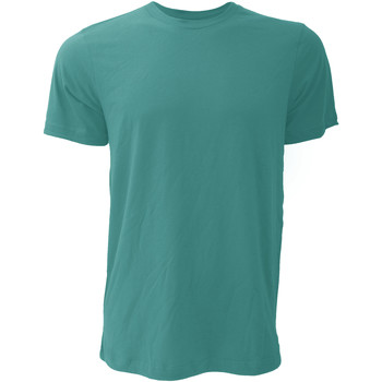 Kleidung Herren T-Shirts Bella + Canvas CA3001 Dunkeltürkis