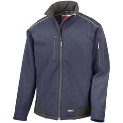 Kleidung Herren Windjacken Result R124X Marineblau/Schwarz