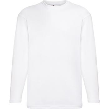 Kleidung Herren Langarmshirts Universal Textiles 61038 Schnee