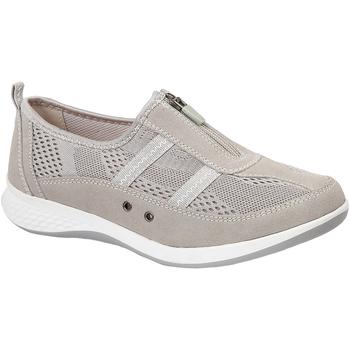 Schuhe Damen Slip on Boulevard  Grau