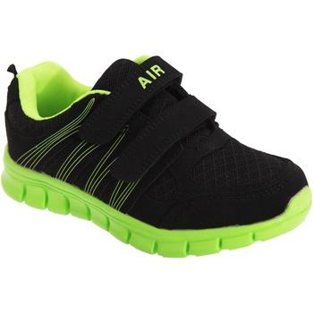 Schuhe Jungen Multisportschuhe Dek  Schwarz/Limette