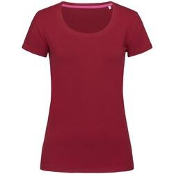 Kleidung Damen T-Shirts Stedman Stars  Bordeaux