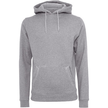 Kleidung Herren Sweatshirts Build Your Brand BY011 Grau meliert