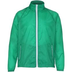 Kleidung Herren Windjacken 2786 TS011 Kelly/Weiß