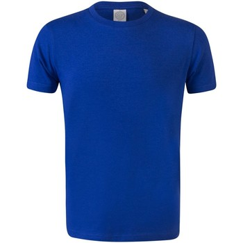 Kleidung Kinder T-Shirts Skinni Fit SM121 Königsblau
