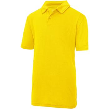 Kleidung Kinder Polohemden Awdis JC40J Sonnengelb