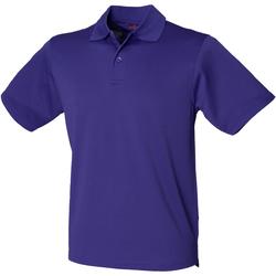 Kleidung Herren Polohemden Henbury HB475 Violett