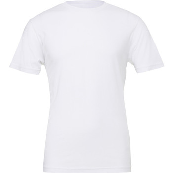 Kleidung Herren T-Shirts Bella + Canvas CA3001 Weiß
