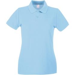 Kleidung Damen Polohemden Universal Textiles 63030 Hellblau