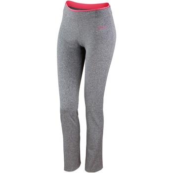 Kleidung Damen Leggings Spiro S275F Grau meliert/Koralle