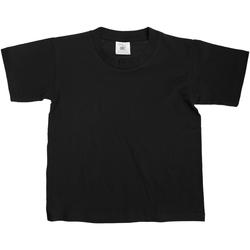 Kleidung Kinder T-Shirts B And C Exact Schwarz