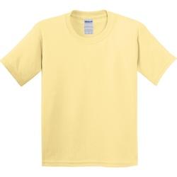 Kleidung Kinder T-Shirts Gildan 5000B Hellgelb