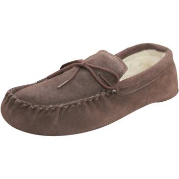 Schuhe Hausschuhe Eastern Counties Leather  Schokoladenbraun