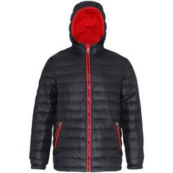 Kleidung Herren Daunenjacken 2786 TS016 Schwarz/Rot